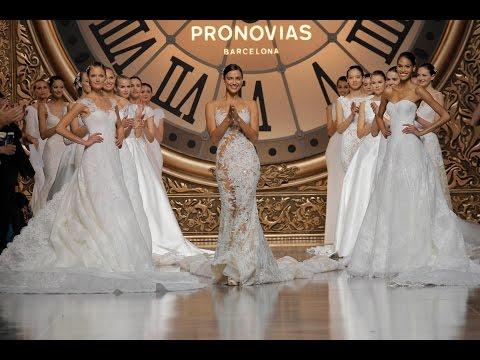 DEFILE PRONOVIAS 2016 FASHION SHOW BY NUANCE