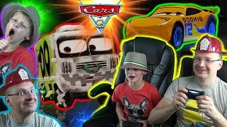 Cars 3 Driven To Win gameplay ★★ Arvy Vs Cruze Ramirez ★★ David Vs Papa
