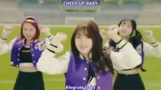 [Mirrored] TWICE _ CHEER UP -- Hangul + Romanization