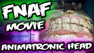 FNAF MOVIE TEASER || ANIMATRONIC HEAD *NEW ||Five Nights at Freddy's Movie Teaser