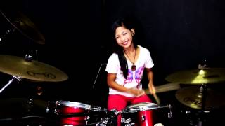 spider aladin drum cover by nur amira syahira