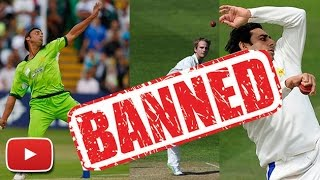 Top 10 International Bowlers Banned For Illegal Bowling Action | Cricket Fan Club