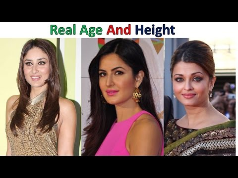 Bollywood Actresses Real Age And Height