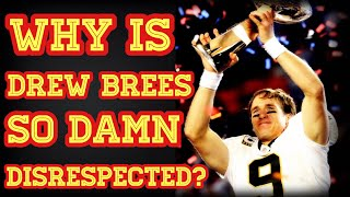 Why DREW BREES deserves to be in the GOAT CONVERSATION!