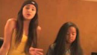 Jasmine Villegas & Gabi Wilson singing Bleeding Love