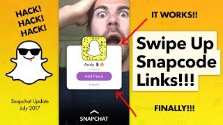 How to Share User in Snapchat Swipe Up Links