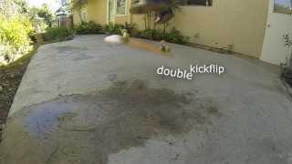 Trick 2: Double Kickflip