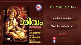 ശിവം | SIVAM | Hindu Devotional Songs Malayalam | Siva Songs