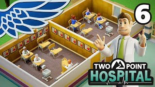 TWO POINT HOSPITAL | Training Montage Part 6 - Hospital Management Let