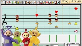 Teletubbies Theme Song - Mario Paint
