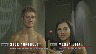 UFC 200: Sage Northcutt Backstage Interview