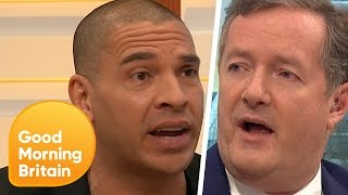 Stan Collymore Confronts Piers Morgan Over Controversial