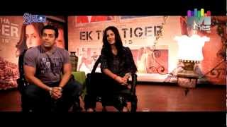 Star Special - Salman Khan and Katrina Kaif  .. Salman Khan making fun of Katrina Kaif.