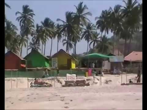 Playa de Mandrem en Goa (Viaje por India)