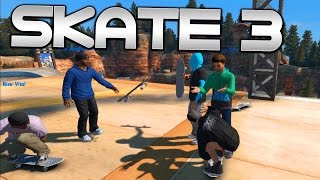Skate 3 Funny Moments: WITH THE SQUAD | Skate 3 Xbox One