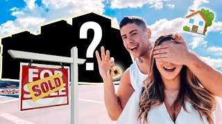 I SURPRISED MY GIRLFRIEND WITH OUR NEW HOME!!!**EXCITING**