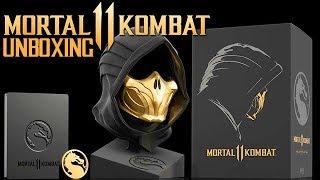 Mortal Kombat 11 Kollectors Edition Unboxing GERMAN Deutsch