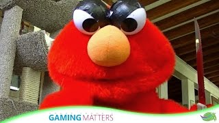 Evil Elmo is hungry | FrankScape