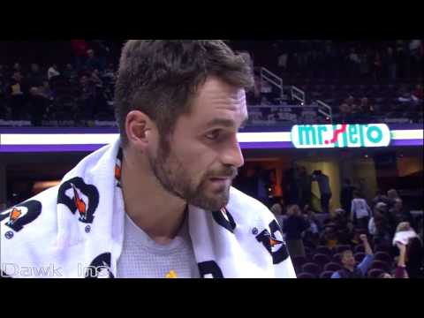 Kevin Love vs Blazers Full Highlights 2016 11 23  40 Pts, UNREAL 34 in 1st Quarter!