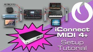 iConnect MIDI 4+ Setup Tutorial (Late Night Tips)