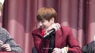 161029 종로 팬사인회 방탄소년단 BTS