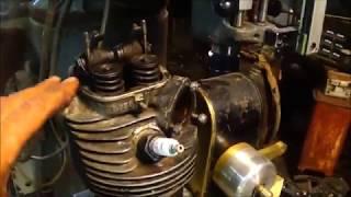 Antique Motorcycle Engine Build (Replica) Part 19 Re-Cap & Update