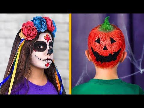9 Cute Hairstyles For Kids Halloween Hairstyles