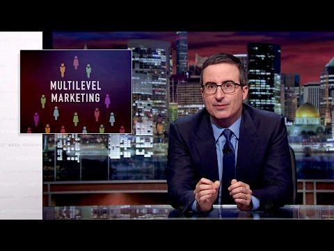 Multilevel Marketing Last Week Tonight with John Oliver HBO