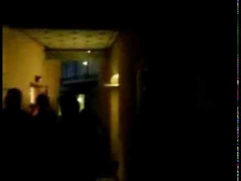 Drunk Girls Busted Peeing in an Alley