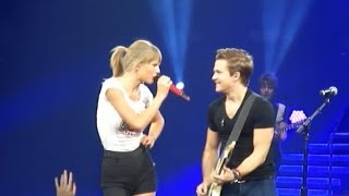 Taylor Swift & Hunter Hayes - I Want Crazy (Live at Bridgestone Arena on 9/21/13)
