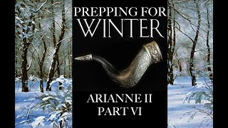 Prepping for Winter: Arianne II, Part 6