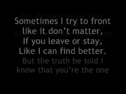Ginuwine My Last Chance Lyrics