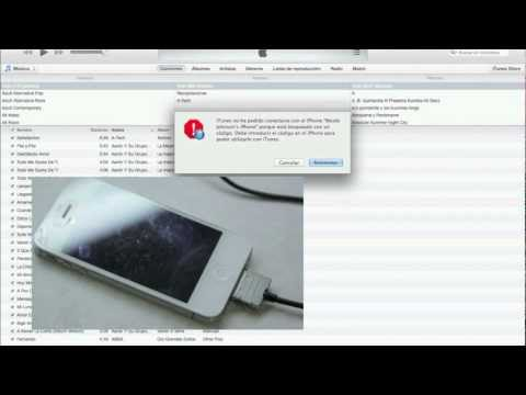 Aprende a desbloquear restaurar tú iPhone iPod iPad con codigo PIN