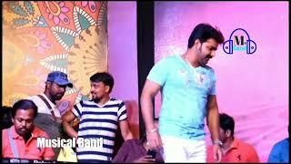 Pawan Singh ne gopalganj me jordar stej show 04/07/2018