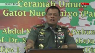 Panglima TNI Beberkan Ada Yang Adu Domba Bangsa Indonesia