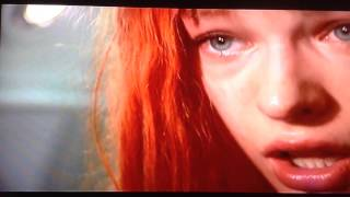 Milla Jovovich the Supreme Being discovers horrors of WAR