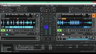 MIX PACHANGUERO MESCLANDO EN VIVO CON TRAKTOR  [ VALLEJO DJ ]