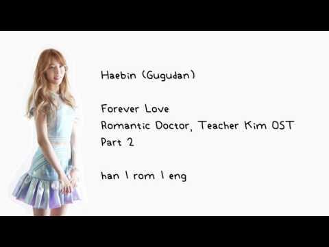 Haebin (Gugudan) - Forever Love (Romantic Doctor, Teacher Kim OST Part 2) [han | rom | eng] LYRICS