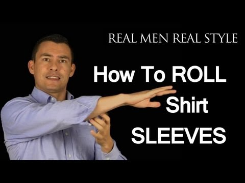Xxx Mp4 How To Roll Up Shirt Sleeves 3 Ways To Fold Mens Dress Shirt Sleeve Male Style Advice 3gp Sex