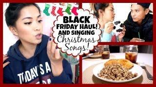 BLACK FRIDAY HAUL & SINGING CHRISTMAS SONGS! Vlogmas 2, 2014