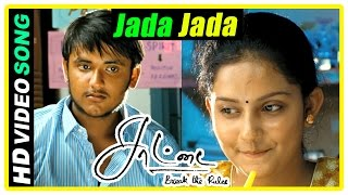 Saattai Tamil movie scenes | Jada Jada Jaada song | Students come first in district level | Yuvan