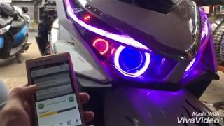 Vario 150 with projector wifi + DRL