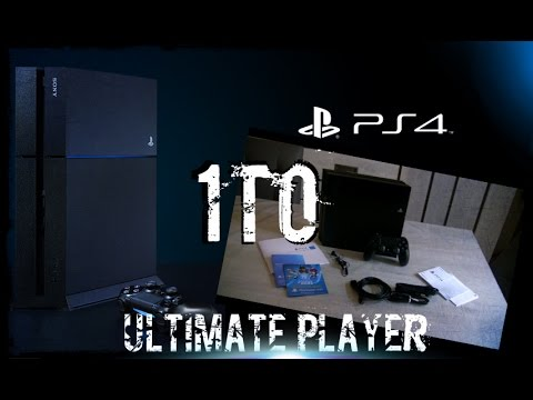 Unboxing PS4 1to /Ultimate Player Edition (FR) 1TB