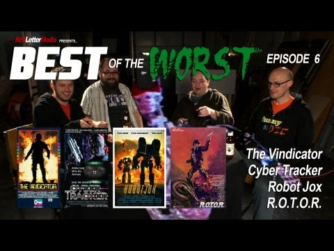 Best of the Worst The Vindicator Cyber Tracker Robot Jox and R.O.T.O.R.