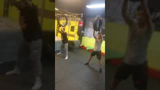"""YOUNGSTER"""" Strength Tire training - HIIT CARDIO"""