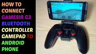 ( HOW TO CONNECT  ) GAMESIR G3  BLUETOOTH CONTROLLER GAMEPAD TO A ANDROID PHONE