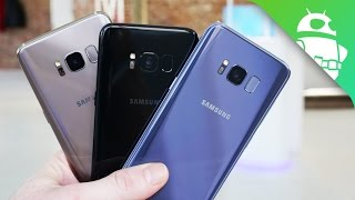 Samsung Galaxy S8 Color Comparison: Which One's The Nicest?