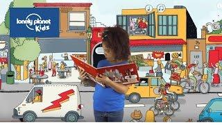 A peek inside How Cities Work - Lonely Planet Kids