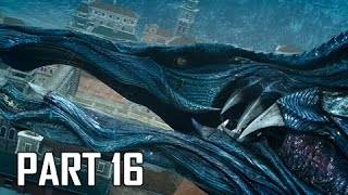 Final Fantasy 15 Walkthrough Part 16 - Leviathan (FFXV PS4 Pro Let's Play Commentary)