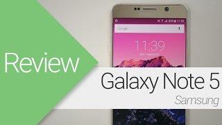 [Review] Samsung Galaxy Note 5 (en español)